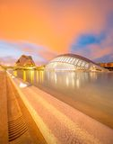Modern european architecture, Valencia Stock Photography
