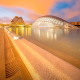 Modern european architecture, Valencia Stock Photo