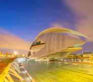 Modern european architecture, Valencia Royalty Free Stock Photo
