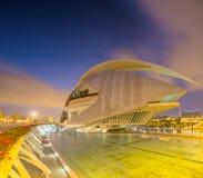 Modern european architecture, Valencia Royalty Free Stock Images