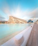 Modern european architecture, Valencia Royalty Free Stock Images