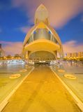 Modern european architecture, Valencia Stock Photos