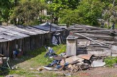 Modern European slums Royalty Free Stock Photo