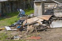 Modern European slums Royalty Free Stock Photography