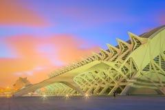 Modern europeisk arkitektur, Valencia Royaltyfri Fotografi