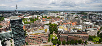 Modern europeisk stad Royaltyfria Foton