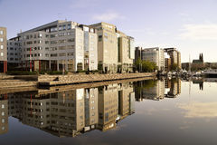 Modern executive apartments Royalty Free Stock Image