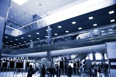 Modern exhibition center Royalty Free Stock Images