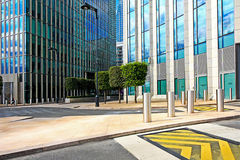 Modern exterior of business centre Stock Photo