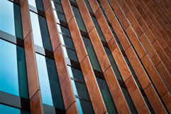 Modern Exterior Windows. Abstract Modern Exterior Architecture Windows Royalty Free Stock Image