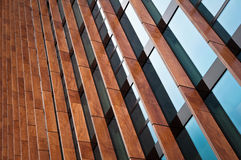 Modern Exterior Windows. Abstract Modern Exterior Architecture Windows Royalty Free Stock Photos