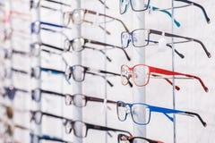 Modern eyeglasses rims Royalty Free Stock Images