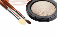 Modern eyeshadow in a natural colour Royalty Free Stock Images