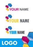 modern företags logo Royaltyfri Foto