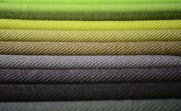 Modern Fabrics Stock Image