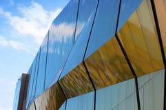 modern facade Arkivfoto