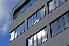 Free Modern Facade And Ominous Sky Royalty Free Stock Images - 2220099