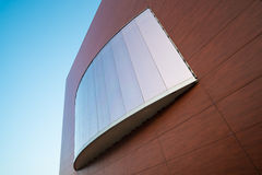 Modern facade detail Royalty Free Stock Images