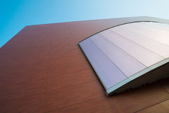 Modern facade detail Royalty Free Stock Photo