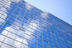 Modern facade of glass and steel Stock Photography