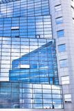 Modern facade of glass and steel. Stock Images