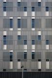 Modern facade and lantern Stock Photo