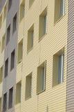 Modern facade med fönster Royaltyfri Bild
