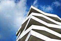 Modern Facade Of Apartment Building Stock Photos