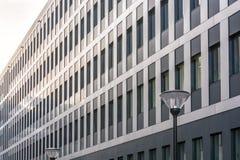 Modern facade of an office building stock image