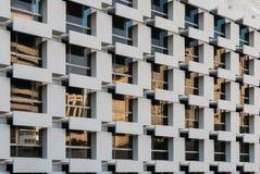 Modern facade with reflection Royalty Free Stock Photos