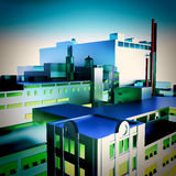 Modern factory Royalty Free Stock Photography