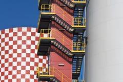 Modern factory Stock Photos