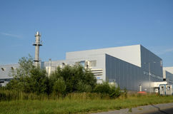 Modern factory building Stock Photography