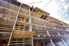 Modern factory construction site Stock Photography