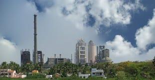 Modern factory, Kerala, South India Royalty Free Stock Photo