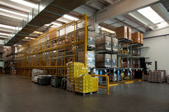 Modern factory plant - warehouse Stock Image