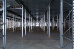 A modern factory warehouse Stock Images