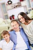 Modern family Stock Image