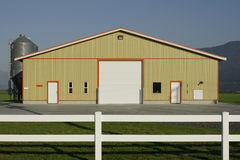 Modern Farm Building Stock Photos
