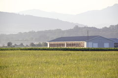 Modern Farm Building Stock Images