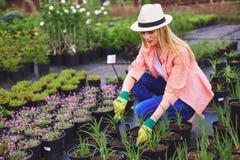 Modern farmer Royalty Free Stock Image