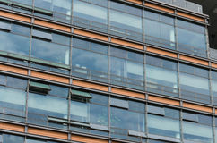 Modern fasaddesign Royaltyfria Foton