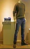 Modern fashion clothese for men Royalty Free Stock Photos