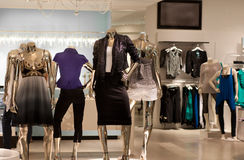 Modern fashion retail store Stock Photo