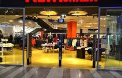 Modern fashion retail store Stock Image