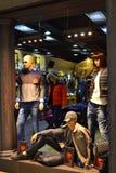 Modern fashion retail store Royalty Free Stock Photos