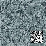 Modern fashion vector trendy camo pattern. Digital camouflage seamless pattern royalty free illustration