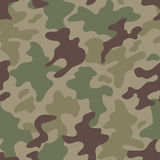 Modern fashion vector trendy camo pattern Royalty Free Stock Photos