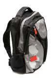 Modern and fashionable backpack Stock Photography