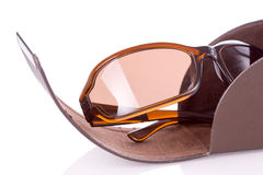 Modern fashionable glasses royalty free stock photo